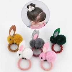 Cute Rabbit Hair Band - Elastic - Children