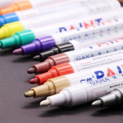 Waterproof - Pen - Car - Permanent - Paint Markers - Stationery