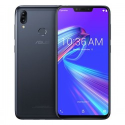 ASUS ZenFone Max (M2) ZB633KL Global Version - dual sim - 6.3 inch - 4000mAh - Android 8.1 - 3GB 32GB - 4G - Midnight Black