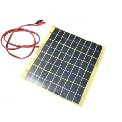 Zonnepaneel Solar Polysilicon 18V 5W 220mm x 200mm x 2mm