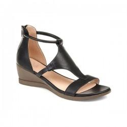 Summer Sandals - Mid Heels - Vintage - Black - Brown - Grey - Red