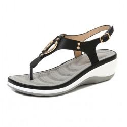 Sandales mode avec décoration en métal - Style bohème