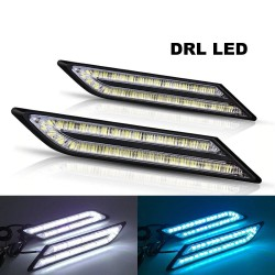 33 SMD - DRL car light - Led - waterproof - 2 pieces