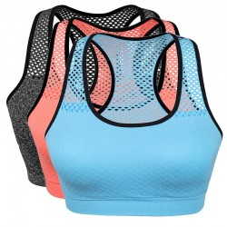 Quick Dry - Mesh - Sports Bras - Wireless - Women Fitness
