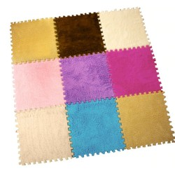 Square mosaic - velvet mat - foam puzzles - DIY carpet 25 * 25 cm