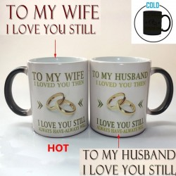 350mL - To My Wife / Husband - Mug - Magic Color - Coffee Mug