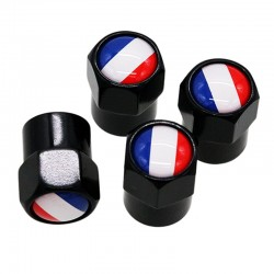 4pcs/set - valve caps - france logo