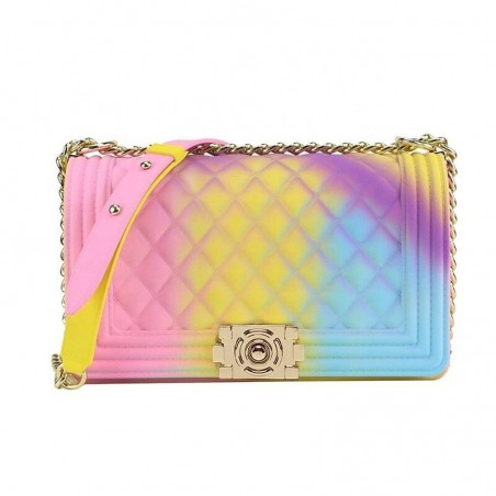 Candy bag - sling bags - gradient painted