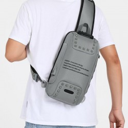 Crossbody bags - anti-theft - messenger bag - usb charging - water repellent