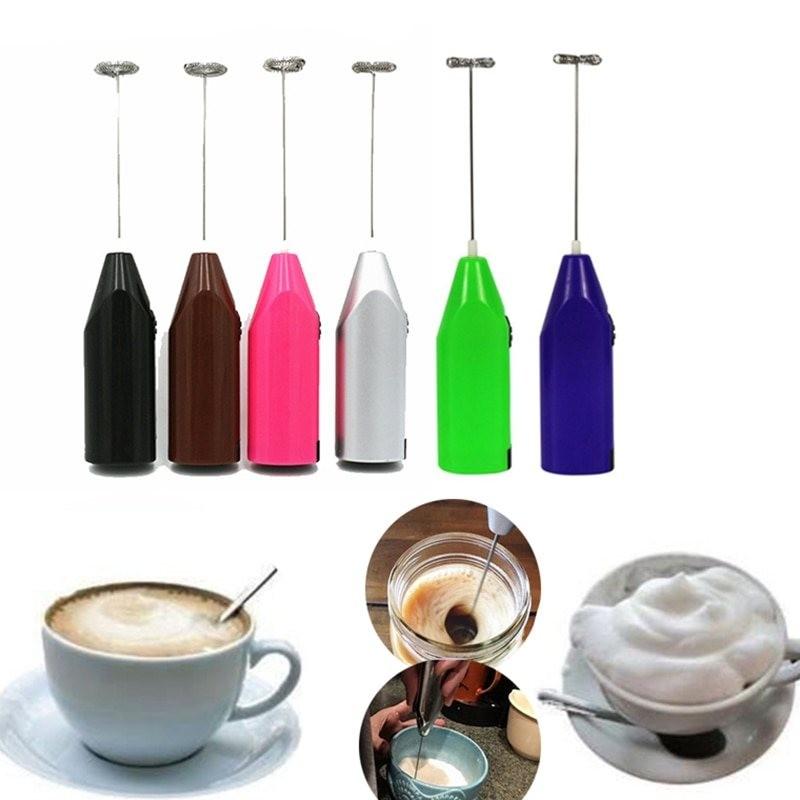 Electric egg beater - mini - egg tools - pink - green - blue