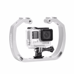 Gopro Action Camera Holder - Diving - Underwater - Aluminum