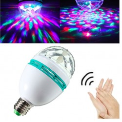 E27 rotierendes RGB-LED-Licht Disco-Licht Sound Activated