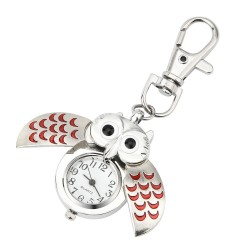 Gorgeous Owl Charm - Unisex - Keychain watch