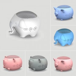 Mini Bluetooth speaker - wireless - cartoon animals