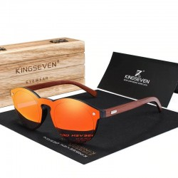Wooden sunglasses - handmade - UV400 - unisex