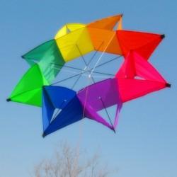Pięcioramienna gwiazda - kolorowy latawiec