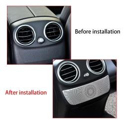 Rear Vent Cover - Trim Sticker - Benz W205 - W213 - E200