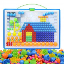 Mushroom - DIY - Children's Educational Toys - 296PCS