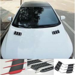 3D shark gill - side air flow vent - car sticker - 2 pieces