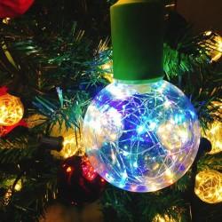 E27 1,7W - żarówka LED RGB - ściemnialna - dekoracja świąteczna