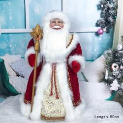 Święty Mikołaj / lalka - dekoracja świąteczna
