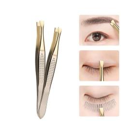 Eyebrow tweezer - stainless steel