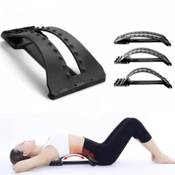 Back massager - lumbar support - waist / spine pain relief