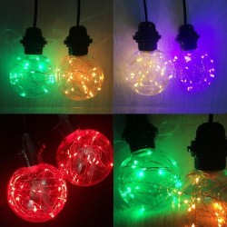 E27 - 220V 110V - RGB - LED decorative bulb