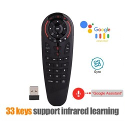 G30S - voice air mouse - smart remote for Android TV Box X96