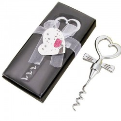 Wine bottle opener - heart shaped handle