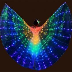 Skrzydła motyla LED - pokaz tańca / bal przebierańców / maskarady / halloween