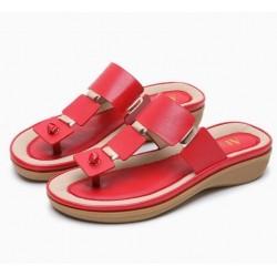 Bohemian style - women's flip flops sandals