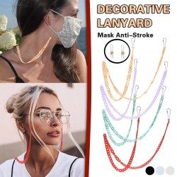 Multifunction chain - holder for glasses / face masks - decorative lanyard - 3 pieces