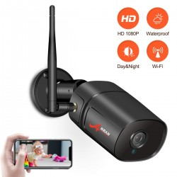 1080P - HD - WiFi - wireless security camera - night vision - waterproof - indoor - outdoor