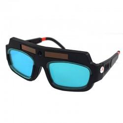 Zasilane energią słoneczną - samościemniające - okulary spawalnicze - soczewki przeciwwstrząsowe - ochrona oczu
