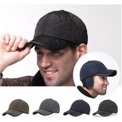 Waterproof Baseball Cap With Earflap