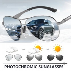 Classic sunglasses - photochromic - polarized - anti-glare - safe for night driving - UV400