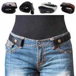 Buckle-free elastic belt - unisex