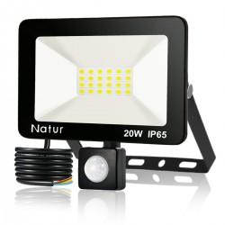 LED floodlight - outdoor reflector - with motion sensor - 20W - 30W - 50W - 100W