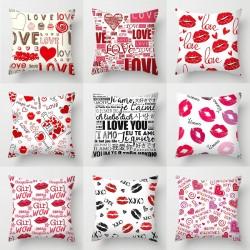 Valentine's day pillowcase - 45*45cm