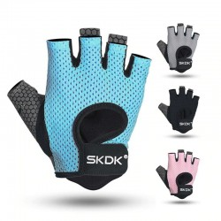 Weight lifting gloves - half finger design - fitness - cross-fit