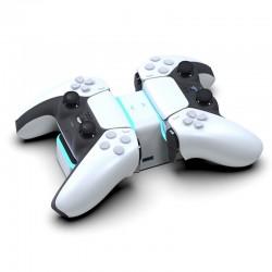 PS5 Wireless Controller - USB-C - Doppelladegerät - Schnellladung - mit LED-Anzeige