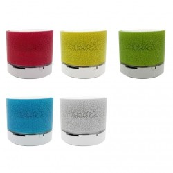 Mini głośnik Bluetooth - przenośny - bezprzewodowy - stereo 3D - 3W