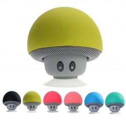 Mini głośnik Bluetooth - bezprzewodowy - z przyssawką - kształt grzybka