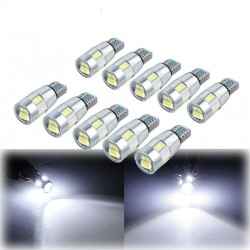 T10 - W5W - SMD - żarówki samochodowe LED - 10 sztuk