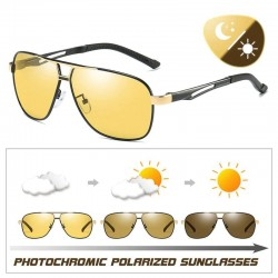 Polarized photochromic sunglasses - day / night driving - UV400