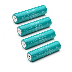 MECO 3.7v 4000mAh Rechargeable 18650 Li-ion Battery 4pcs