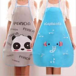 Kitchen apron - adjustable - waterproof - design with animals