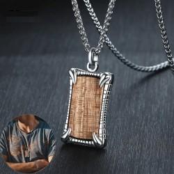 Rosewood pendant - necklace - keychain - bracelet