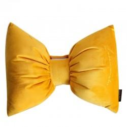 Nordic style - bow shaped cushion - velvet - 32 * 26cm